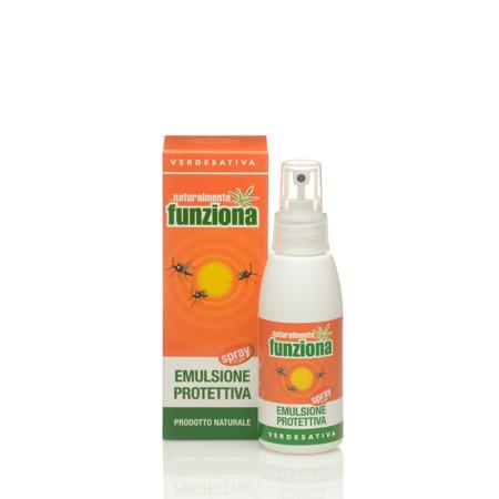 Emulsione naturale protettiva zanzare spray