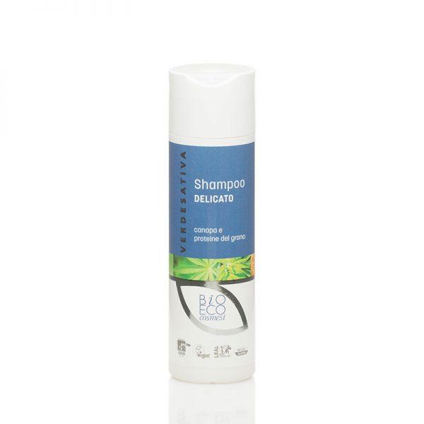 Shampoo Canapa e Proteine del Grano